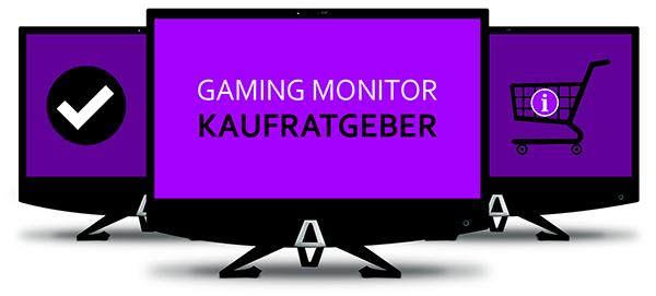 Gaming Monitor Kaufratgeber